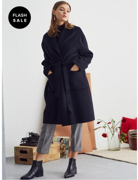 [Flash Sale] L S Handmade Coat Navy by Lartigent