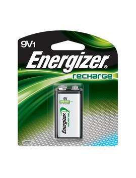 Energizer Rechargeable 9 Volt Batteries, Ni Mh, 175m Ah (1 Pack) by Energizer