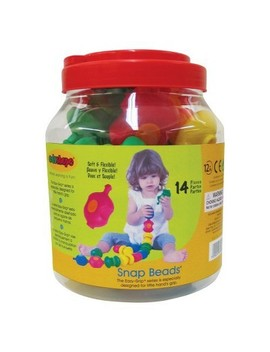 Edushape Sensory Snap Beads   14 Piece by Edushape