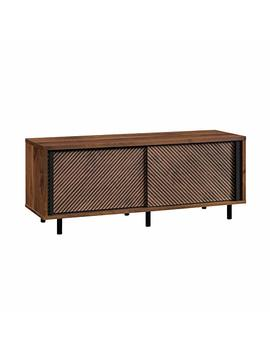 "Sauder 420833 Harvey Park Entertainment Credenza, For Tvsup To 60"", Grand Walnut Finish by Sauder"