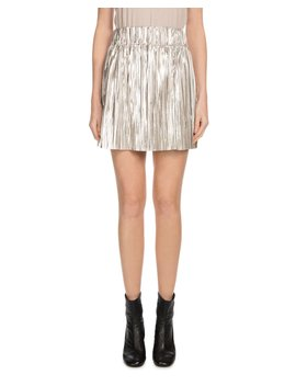 Delpha High Rise Metallic Short Skirt by Etoile Isabel Marant