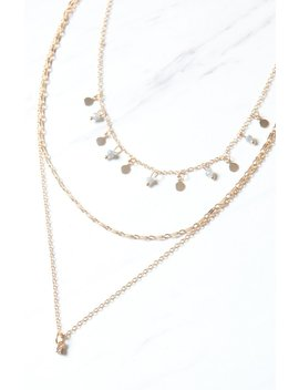 La Hearts Delicate Layered Necklace by Pacsun