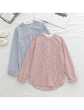 Hanrabong   Striped Shirt by Hanrabong