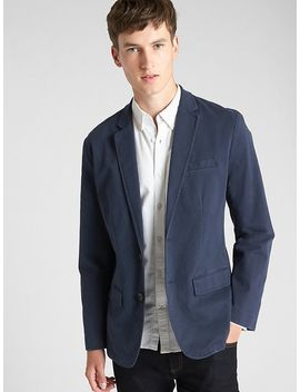 Casual Classic Blazer In Stretch by Gap