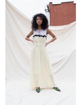 Nikki Chasin Inga Dress   Taro Lemon by Garmentory