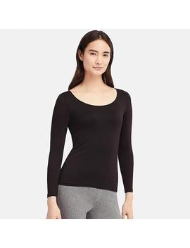 Women Heattech Scoop Neck Bra Top by Uniqlo