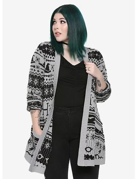 Harry Potter Fair Isle Girls Cardigan Plus Size by Hot Topic
