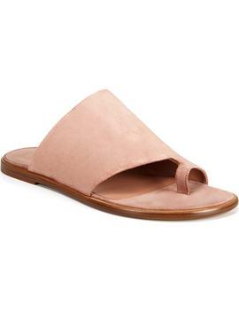 Edris Toe Loop Sandal by Vince