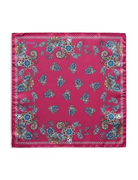 Multi Paisley Pocket Square by Eton