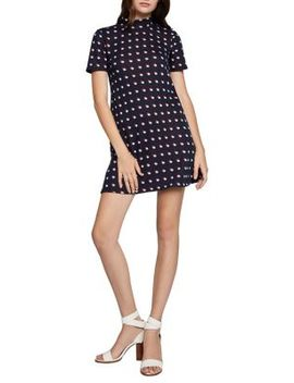 Double Dot A Line Dress by Bcbgeneration