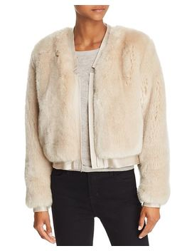 Ashbey Faux Fur Jacket by J Brand