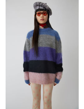 Striped Sweater Multi Mix Stripe by Acne Studios