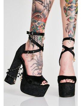 Unholy Revelation Platform Heels by Sugar Thrillz