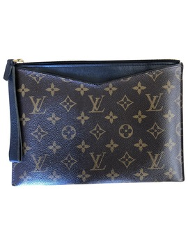 Pallas Cloth Clutch Bag by Louis Vuitton