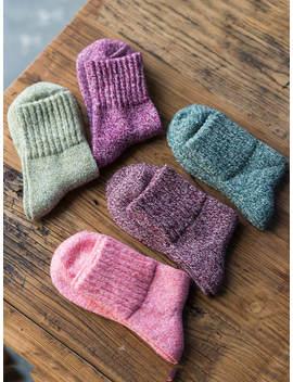 Knit Socks 5pairs by Romwe