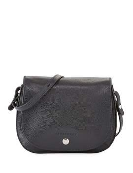 Le Foulonne Small Leather Cross Body Bag by Longchamp