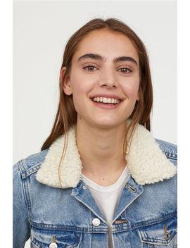 Jeansjacka Med Pilekrage by H&M