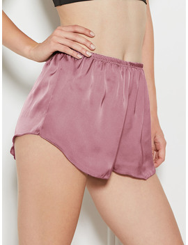 Dolphin Hem Sleep Shorts by Romwe