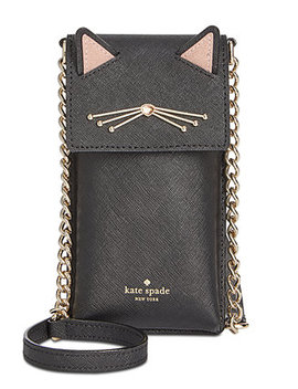 Cat North South Phone Crossbody by Kate Spade New York