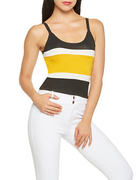 Color Block Cami by Rainbow