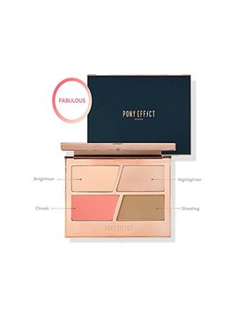 Pony Effect Contouring Master Palette (Fabulous) by Ponyeffect
