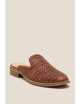 Indigo Rd Helga Perforated Mule by Francesca's