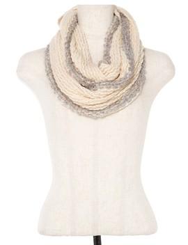 Soft Knit Infinity Scarf Id.36377 by 599 Fashion