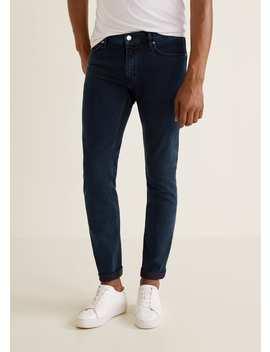 Jeans Patrick Slim Fit Lavado Oscuro by Mango