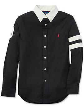Big Boys Performance Oxford Shirt by Polo Ralph Lauren
