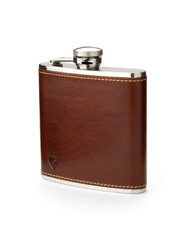The Classic 5oz Hip Flask by Aspinal Of London