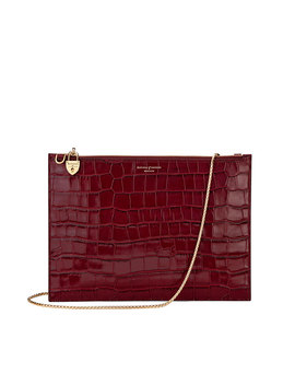 The Soho Double Sided Clutch by Aspinal Of London
