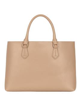 Hobbs Moorgate Leather Tote Bag, Neutral by Hobbs