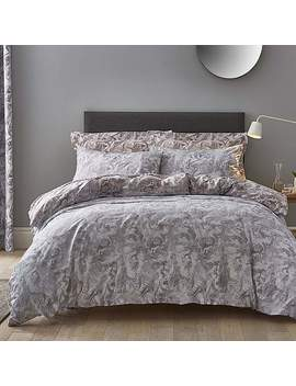 Marble Blush Reversible Duvet Cover And Pillowcase Set by Dunelm