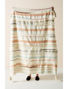 Jess Feury Sunstreak Throw Blanket by Anthropologie