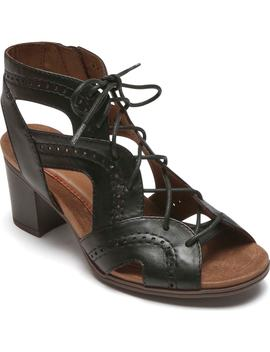 Hattie Lace Up Sandal by Rockport Cobb Hill