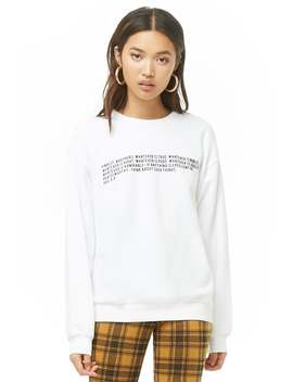 Phil 4:8 Graphic Pullover by Forever 21