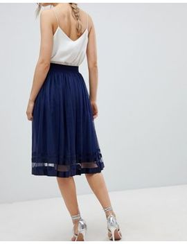 Little Mistress Midi Skirt by Little Mistress