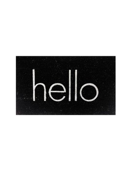Hello Floor Mat by Design Imports