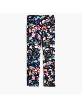 Pull On Easy Pant In Floral Everyday Crepe by J.Crew