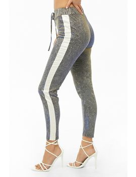 Iridescent Metallic Pants by Forever 21