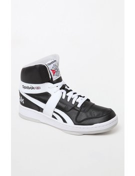 Reebok Bb 5600 Archive Black & White Shoes by Pacsun