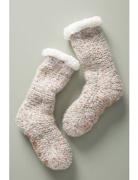 Boucle Slipper Socks by Me Moi