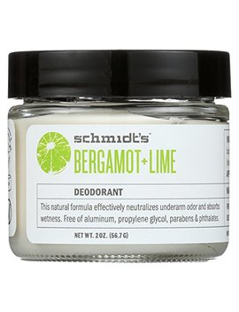 Schmidt's Deodorant   Natural Deodorant Bergamot + Lime   2 Oz. by Schmidt's Deodorant