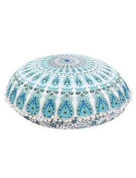 Big Savings/Clearance,Aihome Large Round Mandala Meditation Floor Pillows Case Indian Tapestry Bohemian by Aihome
