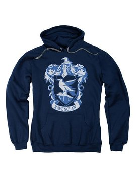 Harry Potter Navy Ravenclaw Crest Hoodie   Adult by Zulily