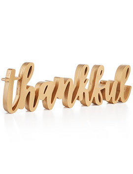 Thankful Sign by Home Essentials