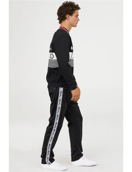 Side Striped Sports Trousers by H&M