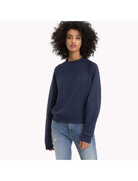 Comfort Fit Raglan Sweatshirt by Tommy Hilfiger