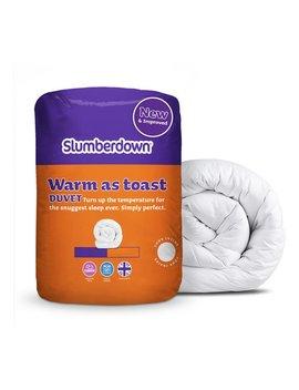 Slumberdown Warm As Toast 13.5 Tog Duvet   Single by Argos