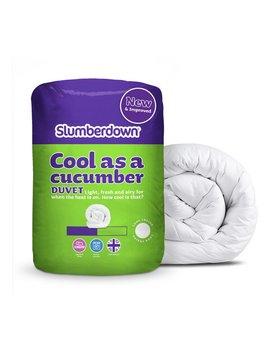 Slumberdown Cool As A Cucumber 4.5 Tog Duvet   Single by Argos